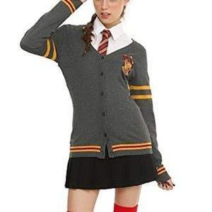 Harry Potter Gryffindor Cardigan - Hot Topic *NWT*
